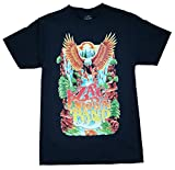 Zac Brown Band Eagle Waterfall Graphic T-Shirt - Large