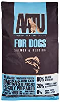 80% SALMON AND HERRING- Our Salmon and Herring 80/20 food combines 80% fresh fish with 20% 'super-8' fruit and veg for a delicious meal your pup will enjoy MADE USING THE 'SUPER-8' FOR VITAL NUTRIENTS- Our AATU dry dog food includes a bespoke combina...