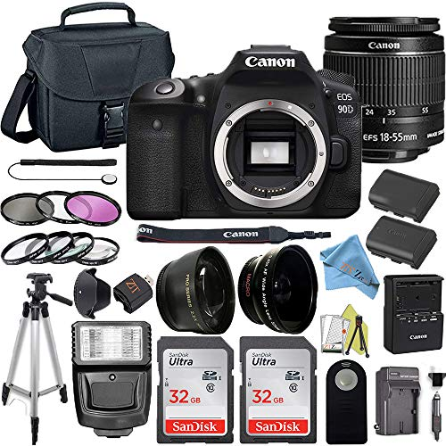 Canon EOS 90D DSLR Camera with 32.5MP Sensor, DIGIC 8 Image Processor...