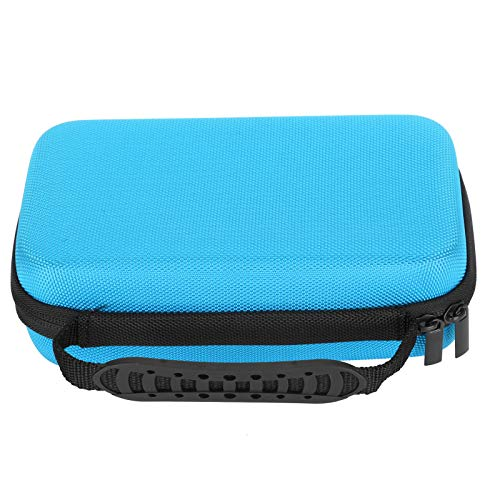 Rotulador Estuche para lápices Estuche para almacenamiento de lona de color de gran capacidad, Estuche para bolígrafos de mano de gran capacidad Estuche para(blue)