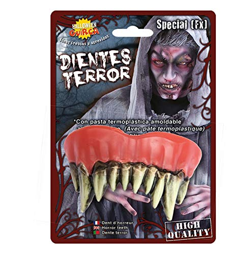 FIESTAS GUIRCA Dent for Horror Disfraz de Halloween