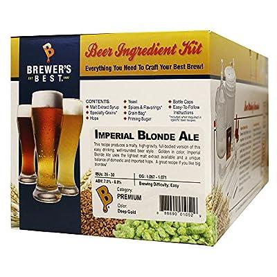 Brewer's Best Imperial Blonde Ale Homebrew Beer Ingredient Kit