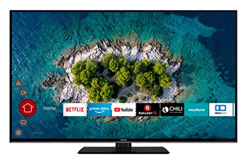 HITACHI U55K6000 140 cm (55 Zoll) Fernseher (4K Ultra HD, HDR10, Dolby Vision HDR, Triple Tuner, Smart TV, Works with Alexa, Bluetooth, PVR)