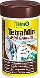 TetraMin Mini Granules - langsam absinkendes Fischfuter für kleine...