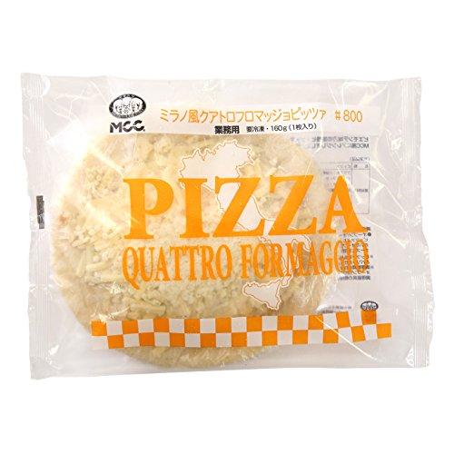 【冷凍】 業務用 MCC食品 ミラノ風 クアトロフロマッジョ ピッツァ 160g 4種の チーズ 冷凍ピザ