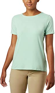 Women's Essential Elements Short Sleeve Shirt, Moisture...