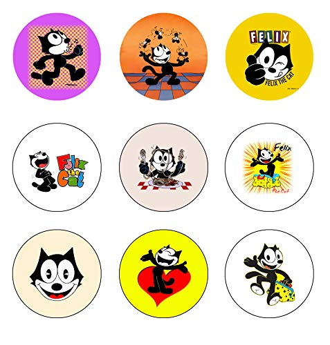 Felix the Cat cartoon Buttons Pins Badge 1.25