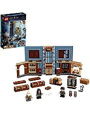 LEGO Harry Potter76385 Poudlard : Le cours de sortilèges, livre incluant les figurines de Harry Potter et du professeur Flitwick