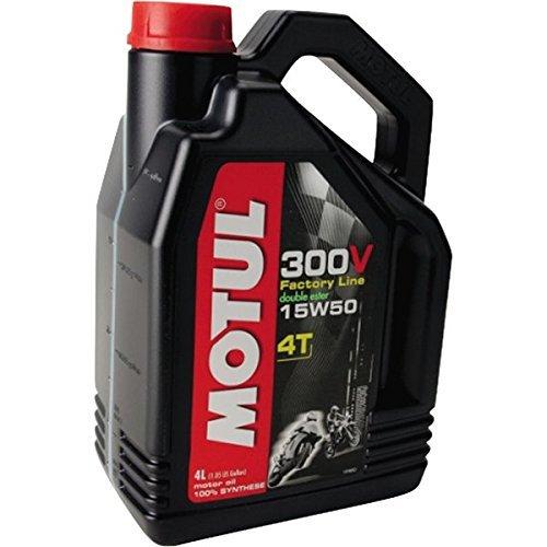 Motul 300V Synthetic Motor Oil - 15W50 - 4 Liter...