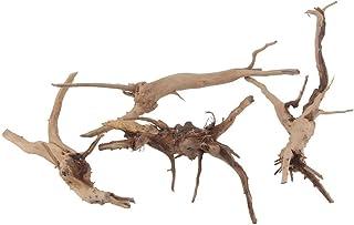 自然流木 水族館シンクエイブル流木水槽の装飾 小 10-15cm 4個入り