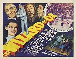 Hotstuff The Wizard of Oz (1939) Movie Poster Judy Garland Dorothy Vintage-Style 12
