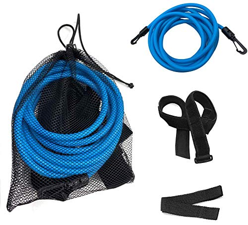 Zhipeng Swimming Belt Training Tether - Swim Stationary Resistance Bungee Cords for Adults Kids, 13.12ft