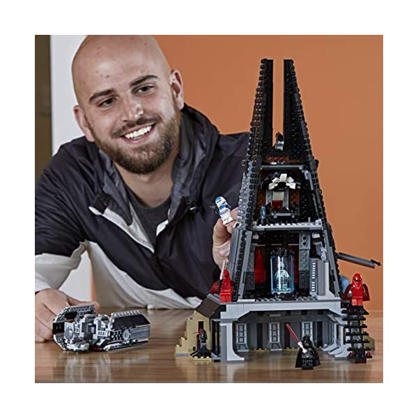 LEGO Star Wars - Castillo de Darth Vader (75251) (Exclusivo de Amazon y LEGO)