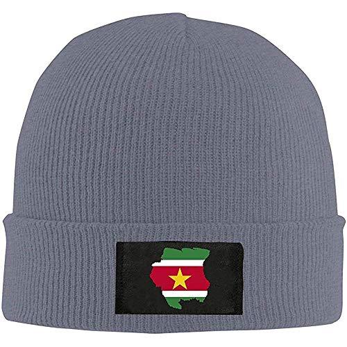 Myrna Kelse Mode Nieuwe Warm Unisex Vlag Kaart Suriname Unisex Warm Winter Wollen Hoed Knit Beanie Schedel Cap