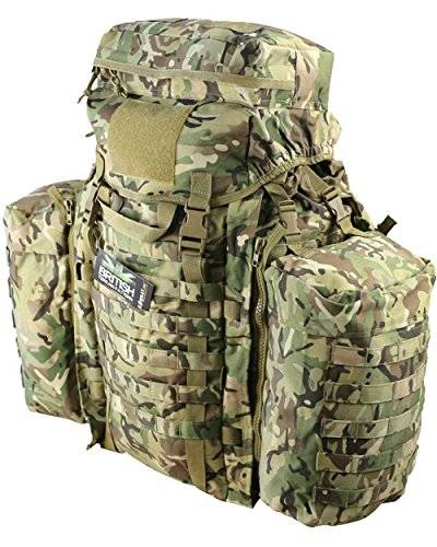 Mens Army Combat Military Travel Rucksack Backpack Surplus Camping Molle 90L New