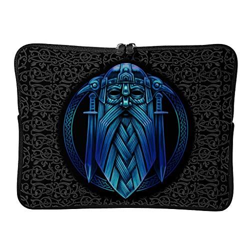 Täglich Viking Laptoptaschen Stilvoll Verschleißfest - Tablet-Hüllen Geeignet für Schule white2 15 Zoll