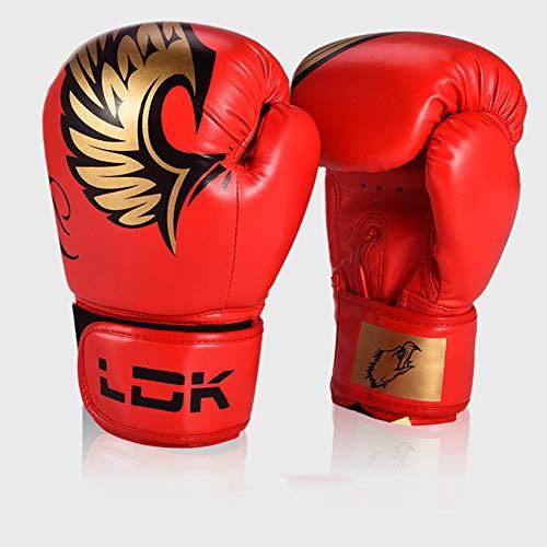 Ainsleyer bokshandschoenen volwassenen kind PU-handschoenen ademend comfort Sanda strijd Muay Thai beroep opleiding handschoenen