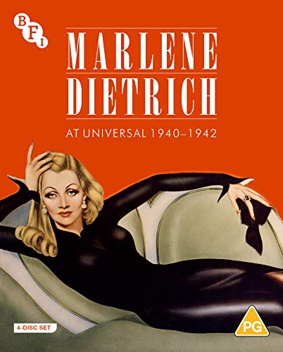 Marlene Dietrich at Universal 1940-1942: Seven Sinners, The Flame of New Orleans, The Spoilers & Pittsburgh [Blu-ray]