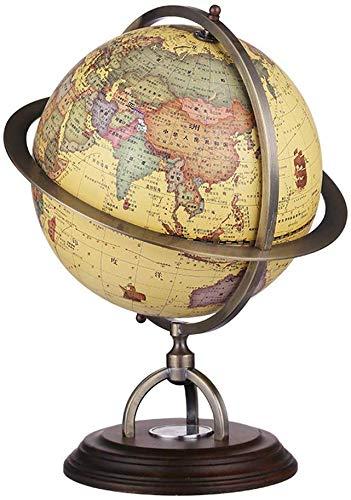 GJJSZ Retro Weltkugeln,360 °-Drehung Pädagogische...
