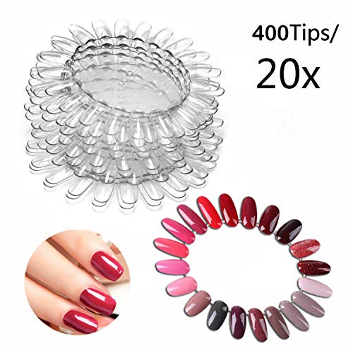 400 Tipps Nagellack Schablone Tipps Nageltips für Display und Praxis