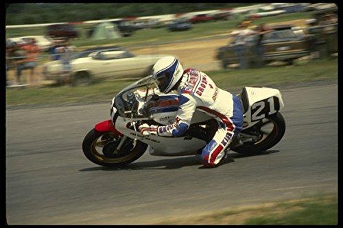 474053 Japanese Rider NG Akien Pitches His Yamaha Through A Turn A4 Photo Poster Print 10x8