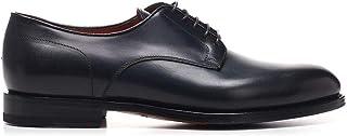 Santoni Luxury Fashion Mens MCCO14272JJ1IOBRU59 Blue Lace-Up Shoes   Spring Summer 20
