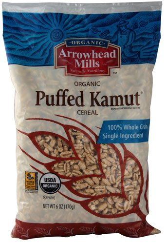 Arrowhead Mills Organic Puffed Kamut Cereal 6 oz[Pack of 3]