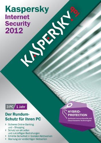 Kaspersky Internet Security 2012 3 Lizenzen (DVD-Box)
