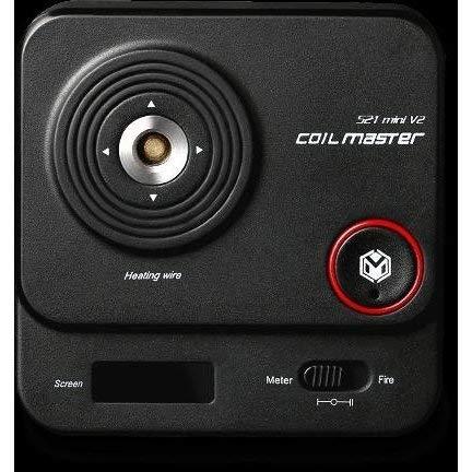 正規品 coil Master 521 V2 TAB mini オームメーター バースト機能 コイルマスター タブミニ [E-14]