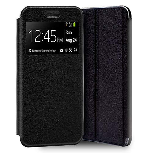 Mb Accesorios, Funda Tapa Libro Negra Xiaomi Redmi 5 Plus con Cierre Magnético
