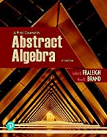 A First Course in Abstract Algebra, 8th Edition Front Cover