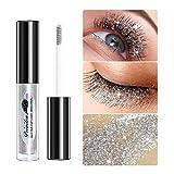 Twinkle Wimperntusche,Wimpernserum,Diamond Glitter Eyes Mascara,langlebige Wimpernwimperntusche für...