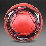 BECCYYLY Footballa ++ Balón de fútbol estándar PU Balón de fútbol Balones de Entrenamiento Fútbol Oficial Tamaño 5 y tamaño 4