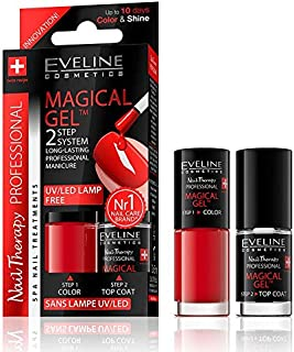 Eveline Nail Therapy Professional Magical Gel™ 2 Step System 2x5ml Set 01