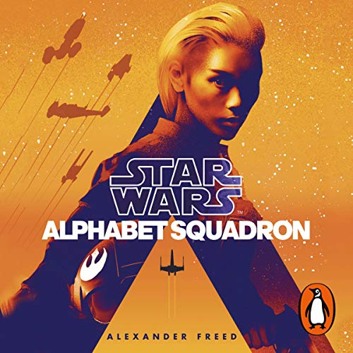 Alphabet Squadron audiobook cover art