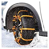 Cadenas 10pcs del coche del neumático de nieve antideslizantes cadenas de neumáticos de nieve del neumático rueda de cable de ajuste del cinturón de neumáticos Ancho 145-295 Cadenas De Nieve Para Coch