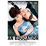 An Education (2009) Carteles de películas que cubren cuadros de lienzo para decoración de la pared del dormitorio Pintura de arte de pared de fondo -50x70cm Sin marco