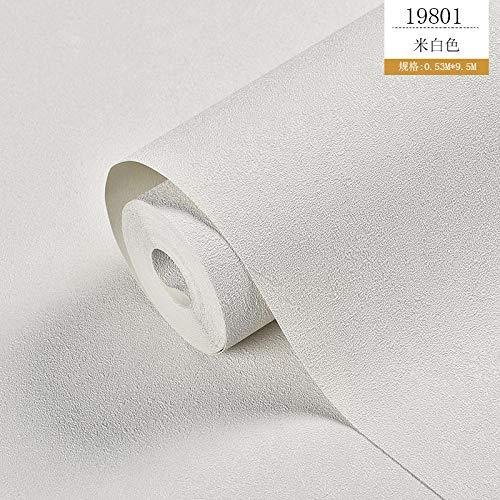 VLING Nordischen Stil Kieselalge Schlamm Wind Plain PVC wasserdichte Tapete, Spezifikationen: 53X1000cm @ 19801