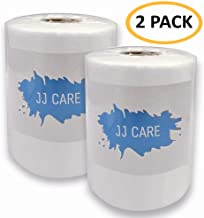 [UPGRADED] Waterproofing Membrane Fabric - Anti-fracture Fiberglass Mesh Tape for Shower Walls, Floors - Crack Prevention Fiberglass Roll - 80 GSM, 6 inches x 75 feet (Pack of 2)