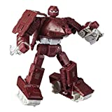 Transformers Toys Generations War for Cybertron: Kingdom Deluxe WFC-K6 Warpath Action Figure - Kids Ages 8 and Up, 5.5-inch
