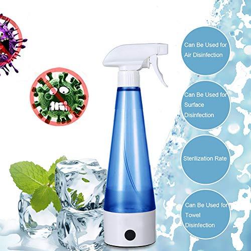 15W zelfgemaakte desinfecterende vloeistofmachine, draagbare desinfectiespuitfles, natuurlijke multi-oppervlaktespray voor huishoudelijke keukens, baden, glas, veilig en gemakkelijk
