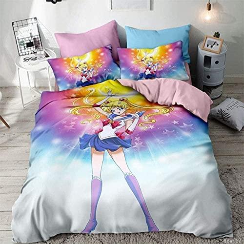 Sailor Moon Ropa De Cama sailor moon ropa  Marca QWAS