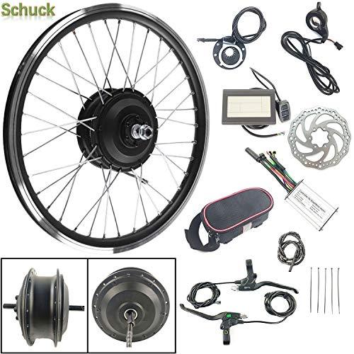Schuck 36V 250W Elektrofahrräder Vorderrad 24 Zoll Umbausatz KT LCD3 Display Electric Bike Front Wheel Hub Motor Conversion Kit