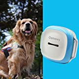 Osmewy Pet Tracker Dog GPS Tracker Dogs Tracking Device with Collar - Light Search Geo Fence Anti-Lost Waterproof GPS Locator Real Time Alarm Free APP 1450mAh 2G GT011