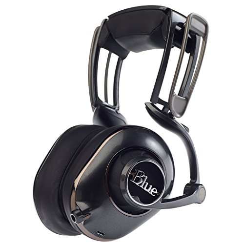 Blue Mo-Fi Powered High-Fidelity Headphones with Integrated Audiophile Amplifier