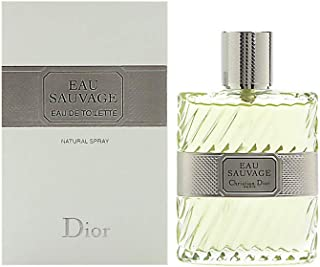 Eau Sauvage by Christian Dior for Men Eau De Toilette Spray 3.4 Oz.