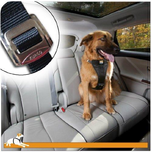 Kurgo 1258 Tru-Fit Crash Tested Dog Harness, Large, Black