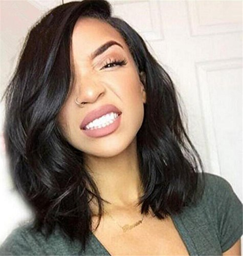 ATOZWIG Short Bob Synthetic Wigs Heat Hesistant Wave Synthetic Hair Wig Bob Style For Black Women