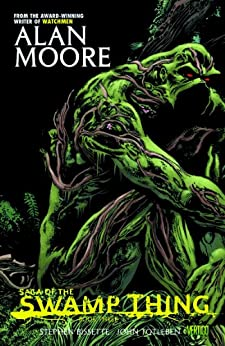 Saga of the Swamp Thing: Book Three by [Alan Moore, Stephen Bissette, John Totleben]