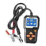 KESOTO Herramienta de Diagnóstico KW650 12V 6V 100 2000 CCA para Comprobador de Carga de Batería Digital para Analizadores de Generador